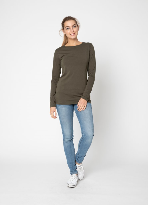 BLACK LIST ROUND NECK TOP