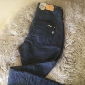 CREAM LOTTE TWILL JEANS