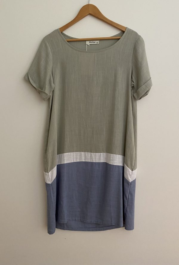 WORTHIER TRI DRESS