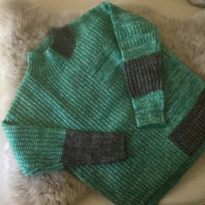 ZACKET & PLOVER MULTI STITCH PULLOVER GREEN