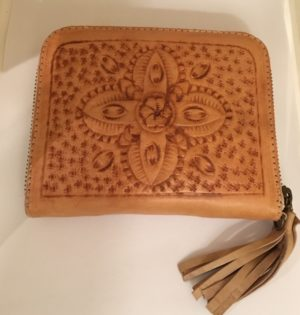 BLOOMS LISA LEATHER PURSE