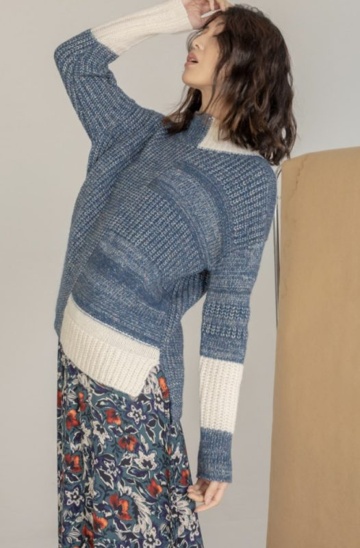 ZACKET & PLOVER MULTI STITCH PULLOVER