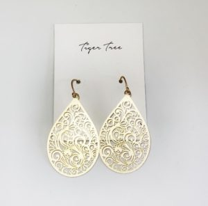 TIGER TREE SWIN EARRINGS