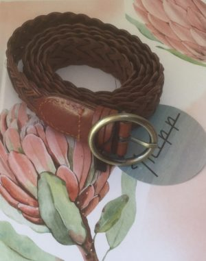 TRIPP LEATHER BELT