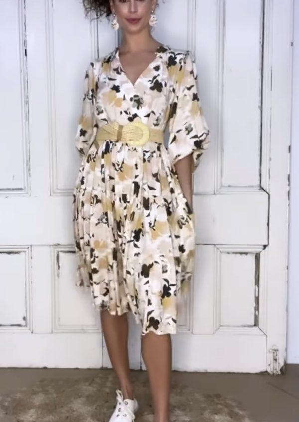 White Closet Jina Dress