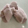 Sami Fluffy Slip On Slippers