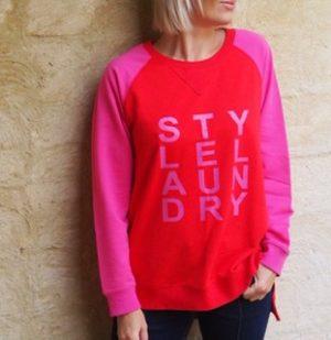 Style Laundry Hot Pink Sweat