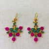 Ruby and Myrtle Pink Earrings