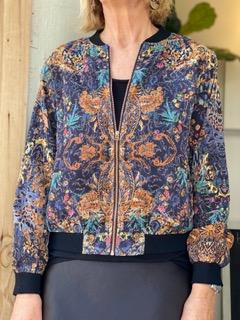 Refuge Sandstone Print Jacket Rust