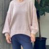 Worthier Cable V Neck Knit