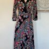 Cienna Ciara Wrap Dress Black