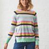 Zacket & Plover Multi Stripe Pullover