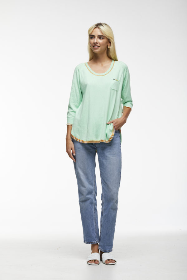 Zacket & Plover Embroidered Pullover