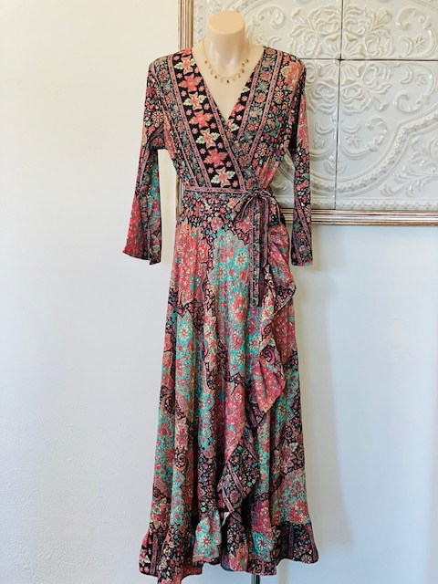 Cienna Crimson Night Dress