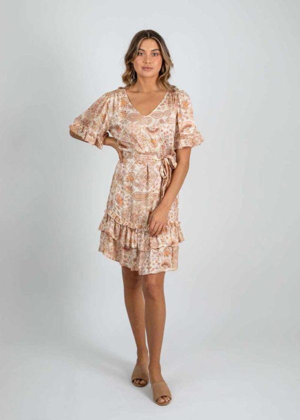 Gysette Amara Mini Frill Dress